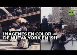 Enlace a Imágenes a color de Nueva York hace más de 100 años