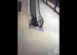 Enlace a Cuando se os olvida cómo usar las escaleras mecánicas