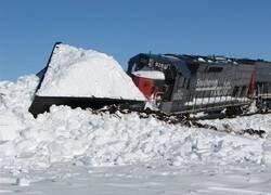 Enlace a Cuando los trenes y la nieve se encuentran