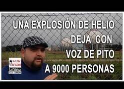 Enlace a Una explosión de helio deja varios afectados