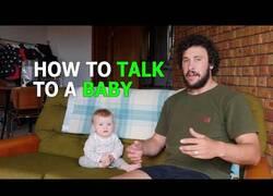 Enlace a Guía rápida de cómo hablarle a un bebé