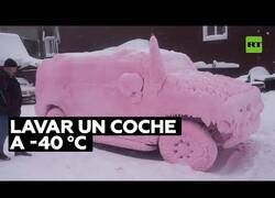 Enlace a ¿Cómo lavar un coche a -40 ºC?