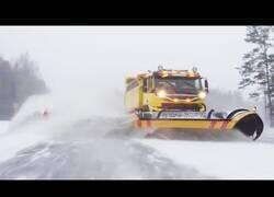 Enlace a Máquinas especiales para la remoción de nieve