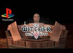 Enlace a Si The Witcher 3 estuviera disponible para PlayStation 1