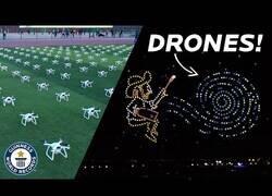Enlace a El espectacular homenaje a Vincent Van Gogh con drones