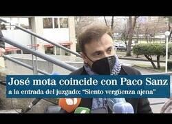 Enlace a José Mota, estafado por Paco Sanz, coincide con él en la entrada del juzgado