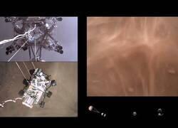 Enlace a Las imágenes del aterrizaje del Perseverance en Marte vistas desde el propio róver