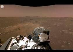 Enlace a Primera vista 360 de Marte captada por el Perseverance