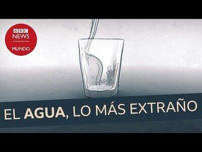 ¿Por qué el agua es una de las cosas más raras del mundo?