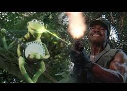 Enlace a La película Predator hubiera sido mejor con la Rana Gustavo como protagonista