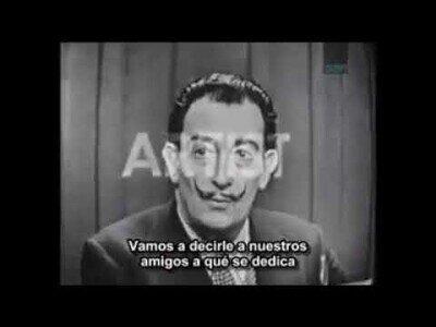 Así intentaba Salvador Dalí que adivinasen su identidad en un programa de televisión