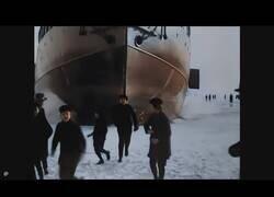 Enlace a Así llegaba un barco rompenieves a Helsinki hace más de 100 años