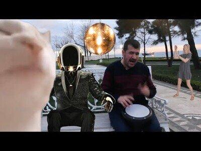 Ievan Polkka al más puro estilo Daft Punk