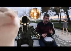 Enlace a Ievan Polkka al más puro estilo Daft Punk