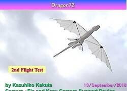 Enlace a Probando un robot dragon volador