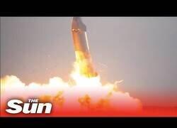 Enlace a El cohete de Elon Musk explota durante una de sus pruebas