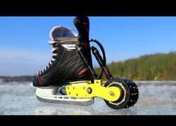 Enlace a Fabricando unos patines sobre hielo eléctricos