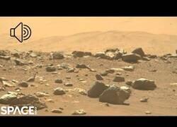 Enlace a Las primeras imágenes con audio de Marte recogidas por el Perseverance