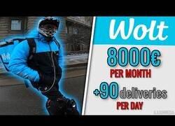 Enlace a El repartidor más rápido del mundo que ingresa 8000€ al mes