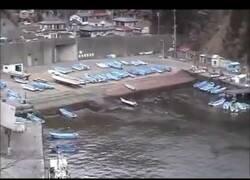 Enlace a Filmando un tsunami en Japón