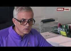 Enlace a Mourinho reacciona a un chiste del Dandy de Barcelona