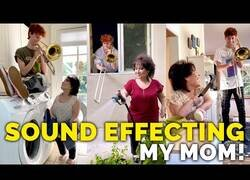 Enlace a Poniendo efectos de sonido a la vida de su madre