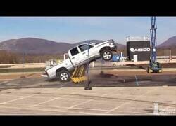 Enlace a La barrera creada para detener camiones
