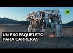 Enlace a Crean un exoesqueleto gigante para competir en carreras