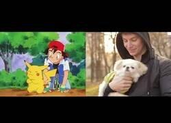 Enlace a Recreando la intro de Pokémon con imágenes de stock