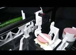 Enlace a La impresora que puede hacerte un sandwich