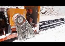Enlace a Tecnología de corte y procesamiento de piedra natural