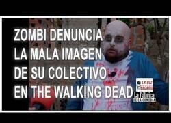 Enlace a Un zombie denuncia la mala imagen de su colectivo en The Walking Dead