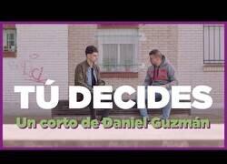 Enlace a Tú decides, el corto de Daniel Guzmán para la campaña de Podemos en Madrid