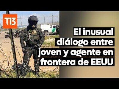 La conversación entre un mexicano y una agente de la frontera entre México y EEUU