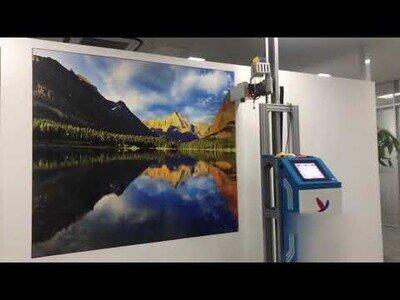 La impresora vertical capaz de dibujar cualquier cosa en la pared