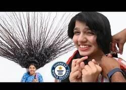 Enlace a Cortando el pelo más largo del mundo