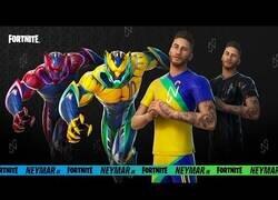 Enlace a El trailer oficial de la nueva skin de Neymar en Fortnite