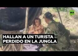 Enlace a Rescatan a un turista alemán perdido en la jungla de Colombia