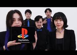 Enlace a Todos los sonidos de PlayStation interpretados acapella