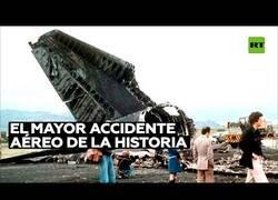Enlace a El accidente aéreo más grave de la historia tuvo lugar en España