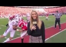 Enlace a Ser reportero de la NFL es un auténtico deporte de riesgo