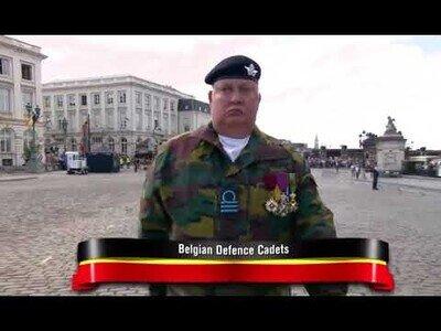 Los Cadetes de Defensa Belga: Maestros de la coordinación