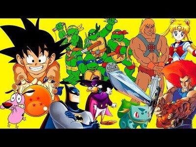 Todas las intros de las series animadas de los 80 y 90