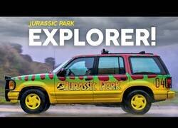 Enlace a Descubriendo la répilca del Ford Explorer de Jurassic Park