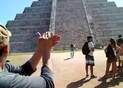 Enlace a El extraño efecto de sonido en las pirámides de Chichen Itza