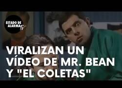 Enlace a Mr. Bean le corta la coleta a Pablo Iglesias