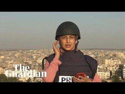 Así de arriegado es ser reportero en Palestina