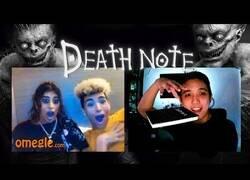 Enlace a Cuando te hacen un bonito retrato... ¡en la Death Note!