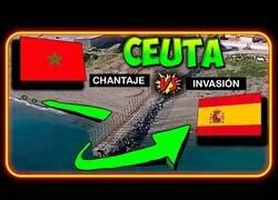 Enlace a Un entretenido resumen de lo ocurrido en la frontera entre Marruecos y Ceuta