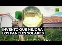 Enlace a Estudiantes crean un invento con una botella de plástico para optimizar las placas solars